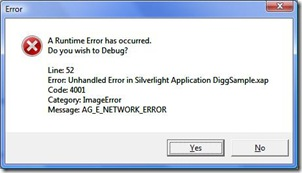 AG_E_NETWORK_ERROR
